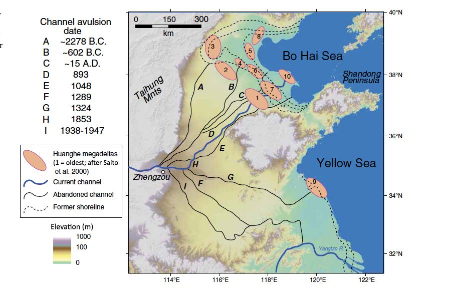 Yellow River Flood DisasterHistoryorg - Yellow river on world map