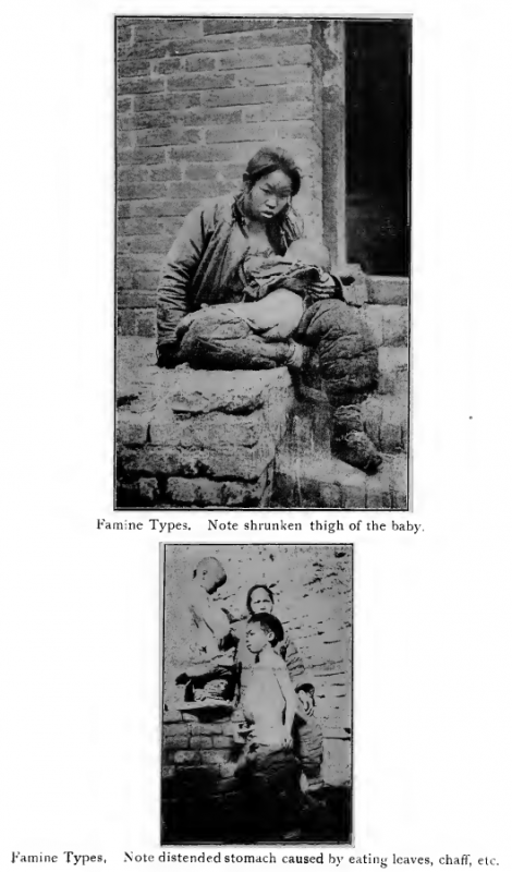 Famine victims China 1921