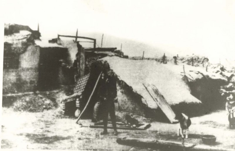 Haiyuan earthquake relief tent 1920
