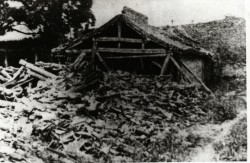 Haiyuan earthquake destruction 1920