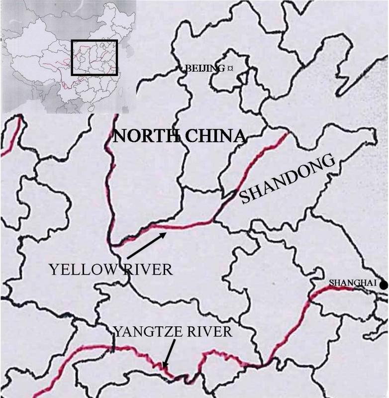 Shandong typhoon map 1935