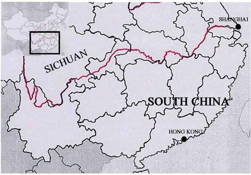 Sichuan Map 1925