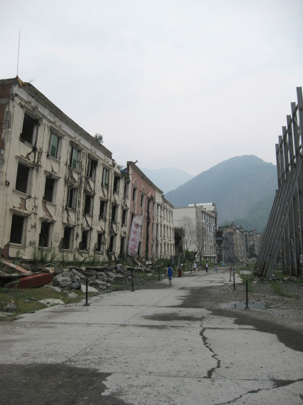 Beichuan city after Wenchuan earthquake, 2014