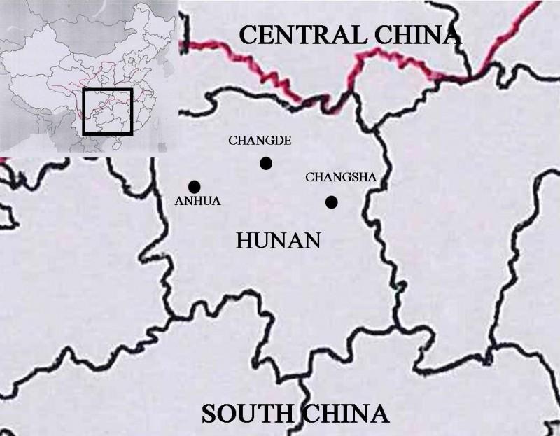 Hunan famine, 1921